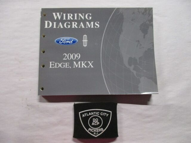 2009 FORD EDGE LINCOLN MKX WIRING DIAGRAMS SERVICE MANUAL ...