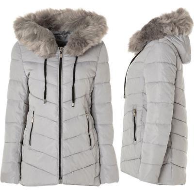 Piumino donna ARTIKA Alpin Fur Jacket N009 cappuccio giubbotto giacca