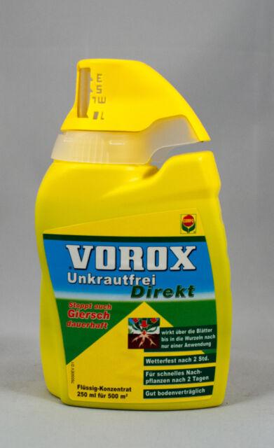 250 ml Compo Vorox Unkrautfrei Direkt Unkraut Gras