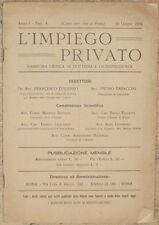 L'IMPIEGO PRIVATO GIURISPRUDENZA CONTRATTO IMPIEGO SENTENZE SCANDALE PRINZIVALLI