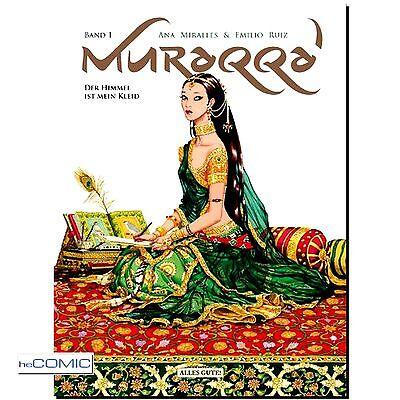 Muraqqa 1 Der Himmel ist mein Kleid 1000 und 1 Nacht DRAMA COMIC 9783941239777