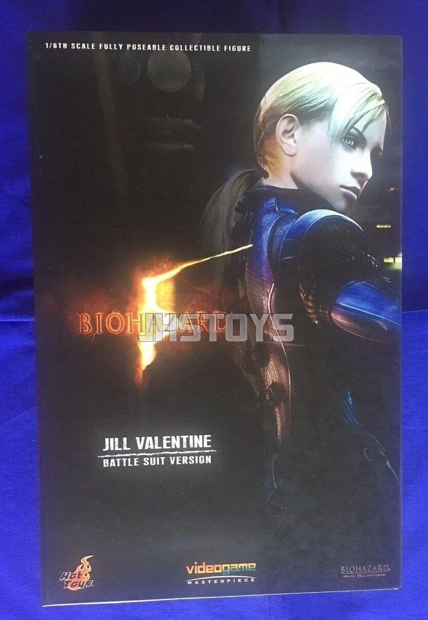 Hot Toys 1 6 Resident Evil Biohazard 5 Jill Valentine Battle Suit Version VGM13