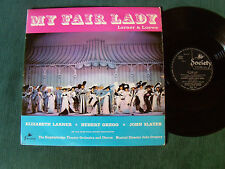 MY FAIR LADY - LARNER, GREGG, SLATER, KNIGHTSBRIDGE - LP 1963 UK SOCIETY SOC 942
