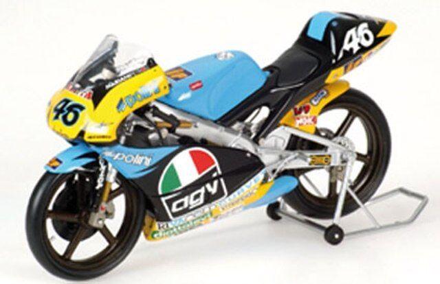 Minichamps 122 960046 APRILIA 125CCM Diecast Modèle Vélo V Rossi Gp 1996 1 12th