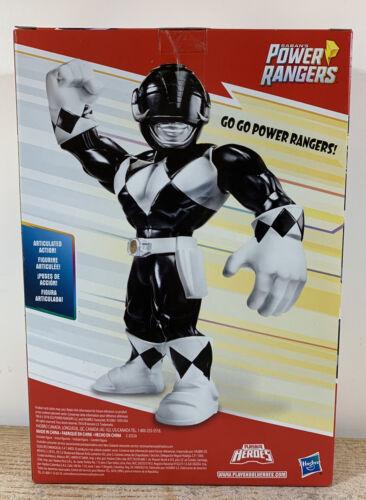 Playskool Heroes Mega mighties Power Rangers Black Ranger 10-inch Figure