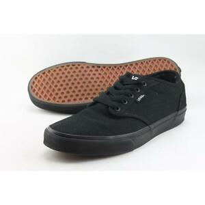 f84bb528b68c47 VANS Atwood Canvas Black Shoes Skate Men SNEAKERS Casual Vn-0tuy186 ...