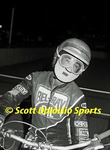1989-SONNY-NUTTER-8-X-10-COSTA-MESA-SPEEDWAY-MOTORCYCLE-PHOTO