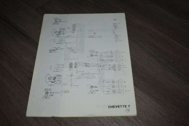 1976 Chevy Chevette Wiring Diagrams