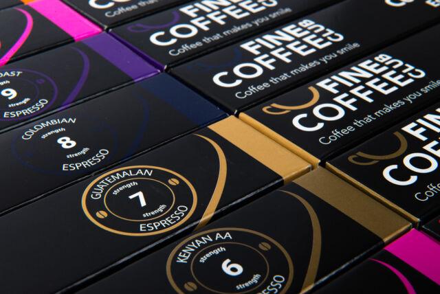 100 x Nespresso compatible capsules, coffee pods for Nespresso machines