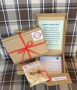 personalised christmas eve box with letter from santa magic key