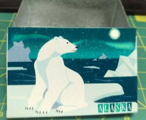 Alaska-Tin-Box-With-Lid-Retro-Polar-Bear-Polar-Bear-on-ice-field-and-Aurora