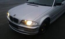 BMW 320D E46 Saloon 2001 ROTTURA PER RICAMBI MOTORE M47 N/S/Anteriore O/S/posteriore argento