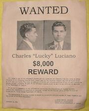 Cooper Wanted Poster Hijacker DB Skyjacker BIG 11x14 D.B D B Robber