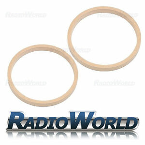 8-034-200mm-MDF-Speaker-Spacer-Mounting-Rings-18mm-Thick-ID-182mm-ED-202mm-Pair
