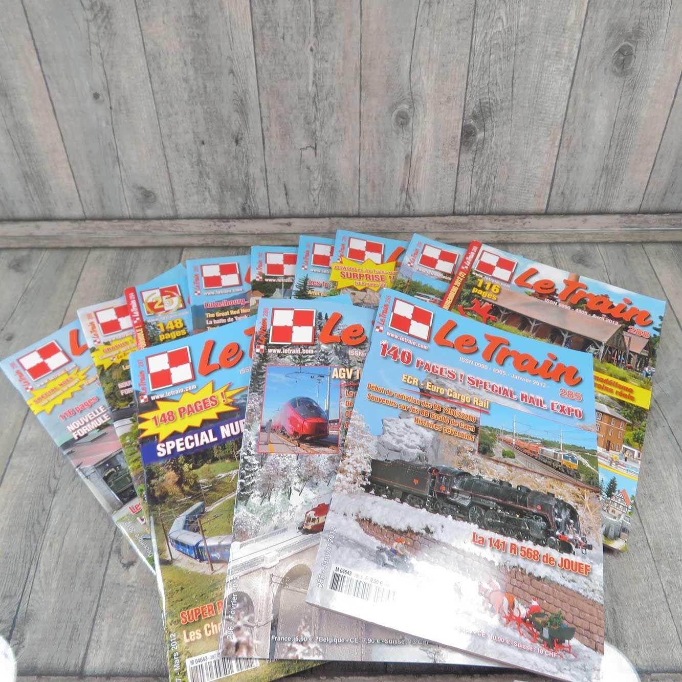 LE TRAIN - 12 Hefte - Jahrgang komplett 2012 -  A21162