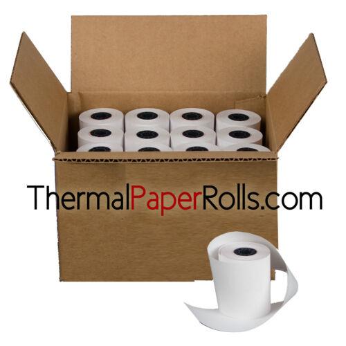 "50 rolls 3 1//8/"" x 43/' Thermal Register Paper"