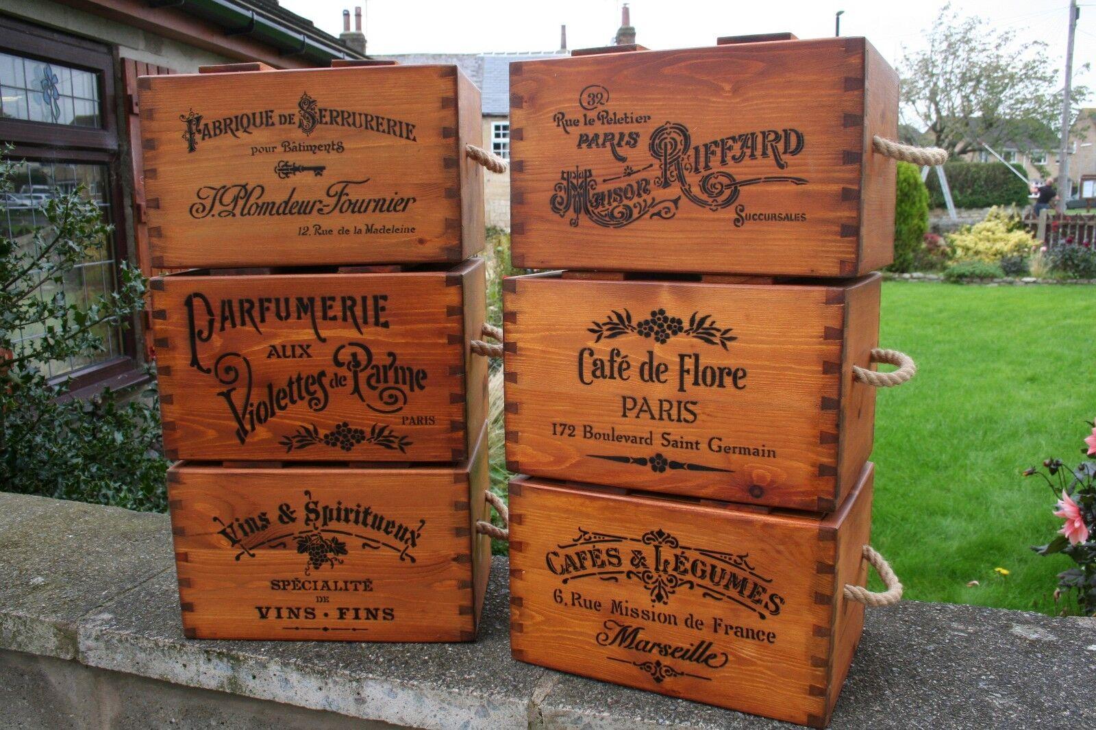 Rustic Antique Vintage Handmade Wooden