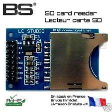 module lecteur de carte SD TF card reader 3.3V 5.0V Pi Arduino STM32 ESP8266