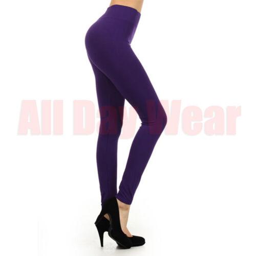 Women Plain Seamless Sports Gym Yoga Running Fitness Pants Leggings One Size