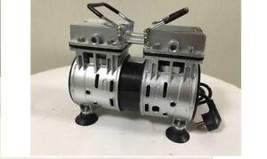 Vakuumpumpe-Olfrei-Labor-Unterdruckpumpe-Vacuum-Pumpe-olfreie-Kompressorpumpe