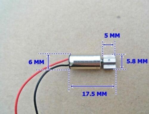 10pcs Magnetic 6x12MM coreless motor 3V-6V micro vibration motor