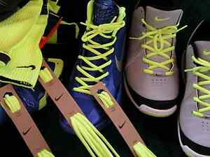 Image is loading NIKE-VOLT-Neon-Yellow-Shoe-Laces-Strings-39-
