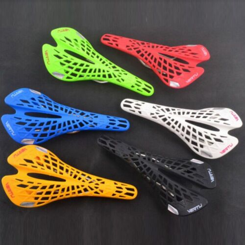 BMX MTB Mountain Road Bicycle Bike Cycling Seat Saddle Hollow Out Webbed Pattern