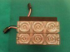 Code 3 Pse Rx 2700 Amber Steady Burn 3 Led Dual Module