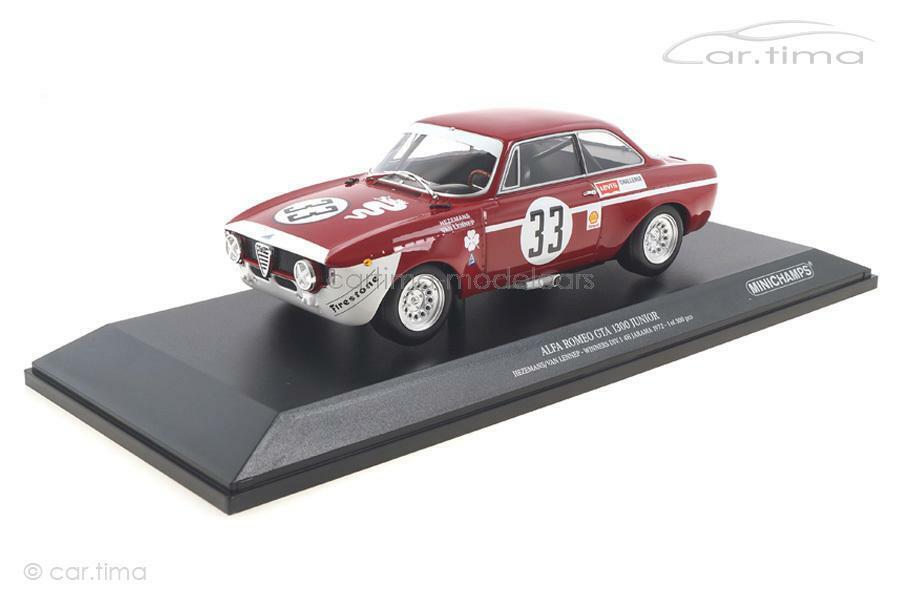 ALFA ROMEO GTA 1300 Junior-Winner Jarama 1972-hezemanns Lennep-Minichamp