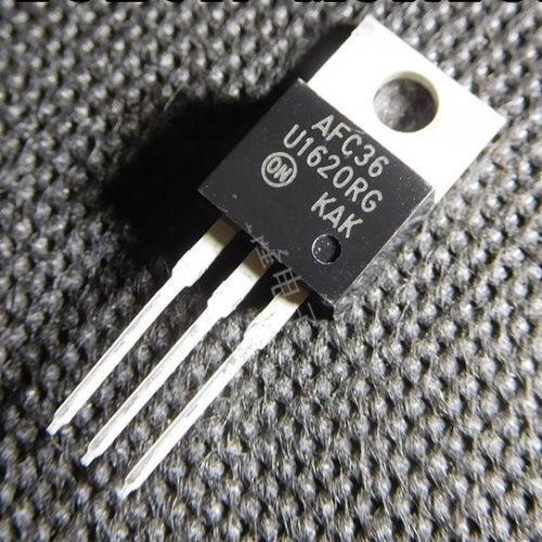 10PCS MUR1620CTRG U1620RG 16A 200V KAK TO-220 Fast Recovery Diode FRD