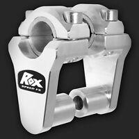 Rox 2 Pivoting Snowmobile Handlebar Risers For 7/8 Or 1-1/8 Handlebars