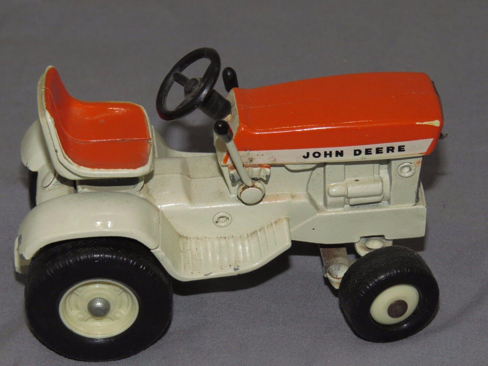Vintage John Deere 140 Lawn Garden 1 16 Toy Toy Toy Tractor Ertl PATIO Sunset orange 59347d