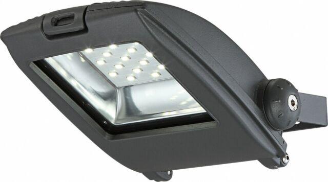 Globo 34218 Big.Light LED Baustrahler Aluminium grau Druckguss Glas klar 10W