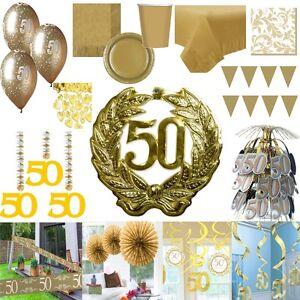 Party Deko Gold Hochzeit 50 Jahre Jubilaum Goldene Hochzeit Riesen
