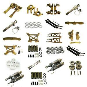 Aluminum CNC metal Upgrade DIY parts Silver Fit For TRAXXAS 1//16 SLASH Rc Car