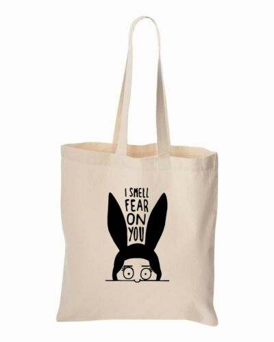 I Smell Fear on You Tote Bag Bob/'s Burger/'sLouise Beach Totes Grocery Shopping