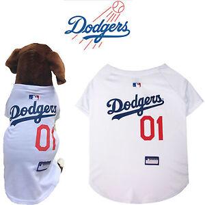 MLB Pet Fan Gear LA LOS ANGELES DODGERS Dog Jersey Dog Shirt for ... f02fbfd17a4