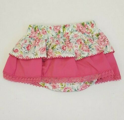 NEW Spanish Baby Girls Bright floral Jam Pants Skirt /& Top  0-3 18 Month