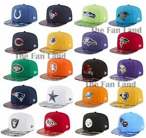5cd0dae0a New NFL New Era On Field Color Rush Mens 9FIFTY Snapback Cap Hat