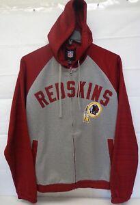 4fc78567 Details about Washington Redskins Men's L G-III Legend Hooded Track Jacket  243