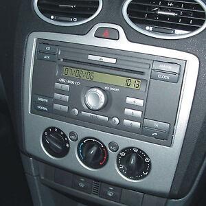 ford focus mk2 05 car stereo single din fascia steering. Black Bedroom Furniture Sets. Home Design Ideas