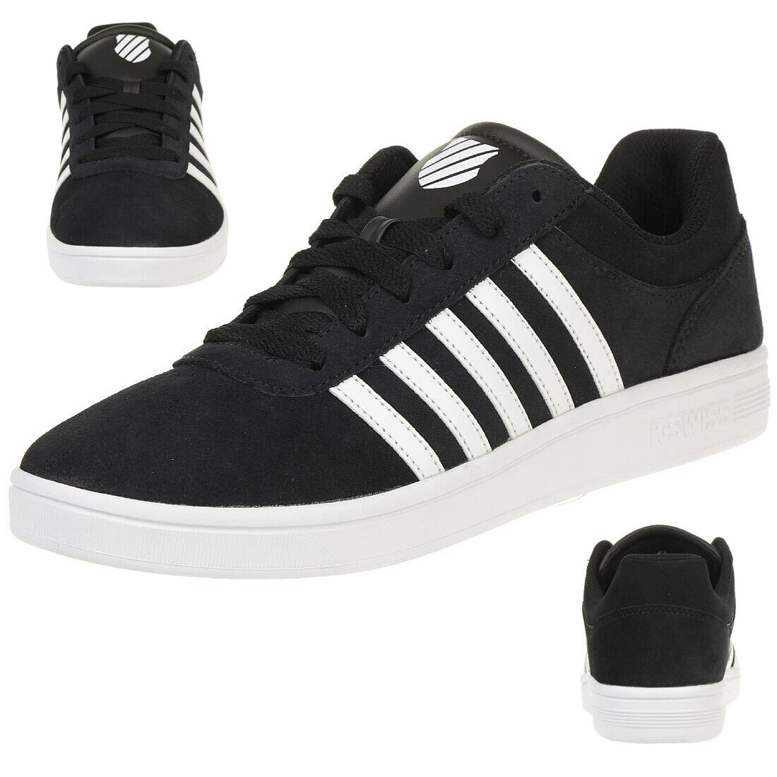 K-Swiss Court Cheswick Sde shoes Trainers Black 05676-002-M