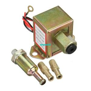 Details About Universal 12v 2 4 Psi 20 30 Gph Automotive Metal Electric Fuel Pump Solid