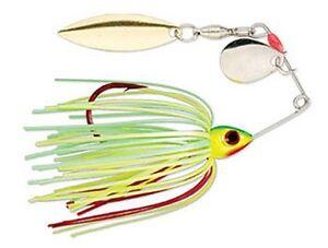 Strike-King-Bleedin-Mini-Spinnerbaits-3-16oz-5-3gr-colore-FIRETIGER