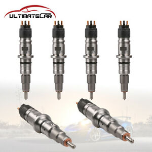 0445120050 Diesel Fuel Injector For 07-12 Dodge Ram 3500 Truck Cummins 6.7L