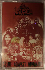 Nausea Crime Against Humanity - SEALED Original Wild Rags Cassette - RARE - OOP