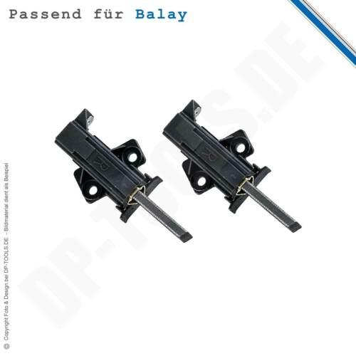 """Charbon Balais pour machine à laver Balay 3ts 660 C avec support /""""R/"""" 154071"""