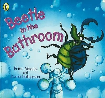 1 of 1 - Moses, Brian, Beetle in the Bathroom (Picture Puffin), Very Good Book
