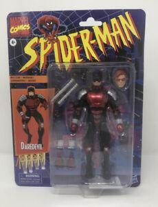 Retro-Daredevil-Marvel-Legends-6-034-SPIDER-MAN-Serie-cardees-FIGURE-Livraison-gratuite