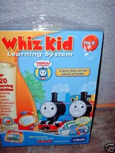 WHIZ-KID-THOMAS-amp-FRIENDS-PRE-K-FOR-USE-WITH-VTECH-NIP